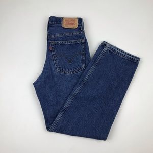 Vintage Levi's 550 High Waist Wedgie fit Jeans